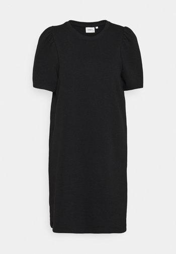 ONLDIANNA LIFE O-NECK DRESS - Day dress - black