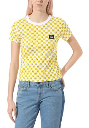 THE SIMPSONS CHECK EYES TEE - T-shirt print - (the simpsons) check eyes