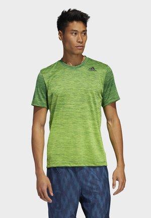 TECH GRADIENT T-SHIRT - Print T-shirt - green