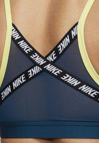 Nike Performance - INDY  - Sports bra - lime light/valerian blue/white - 4