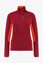 Fleece jacket - rot (500)
