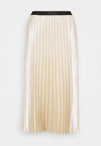 someday. - ONTI SHINE - Plisovaná sukně - ivory - 4
