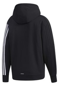 adidas Performance - MUST HAVES ENHANCED AEROREADY HOODED - Sweatjacke - black - 10