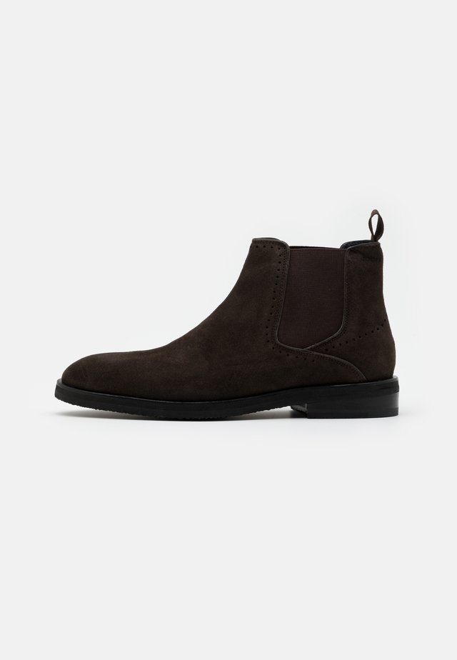 KLEITOS CHELSEA BOOT - Stövletter - dark brown