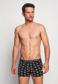 Calvin Klein Underwear - TRUNK - Culotte - black - 1