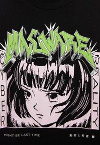 Bershka - MIT PRINT  - T-shirt print - black - 4