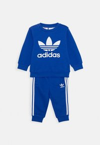 adidas Originals - CREW SET UNISEX - Chándal - royal blue/white - 0