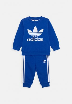 CREW SET UNISEX - Verryttelypuku - royal blue/white