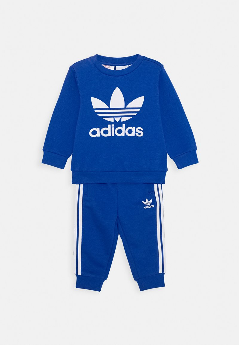 adidas Originals - CREW SET UNISEX - Chándal - royal blue/white