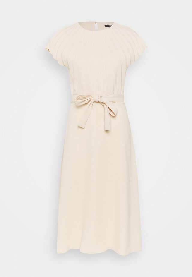 DRESS - Korte jurk - cream beige