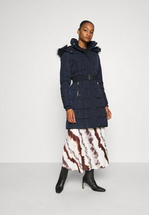 SIENNA SQUARE MIDI PADDED - Cappotto invernale - ink