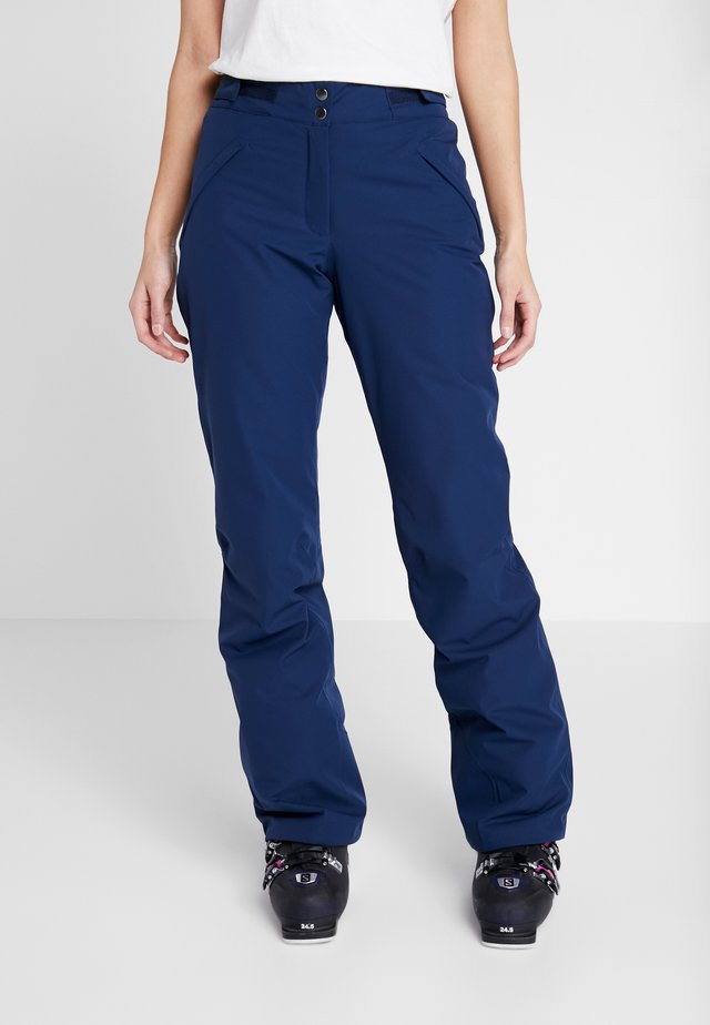 SIERRA PANTS - Talvihousut - dark blue
