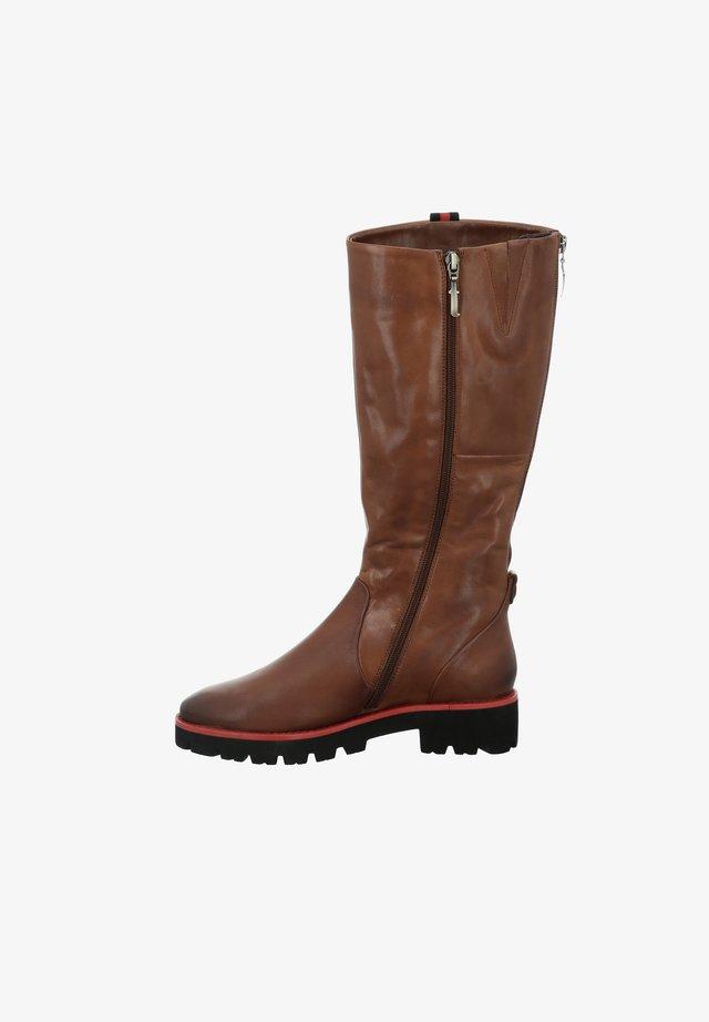 DALLAS - Boots - cognac
