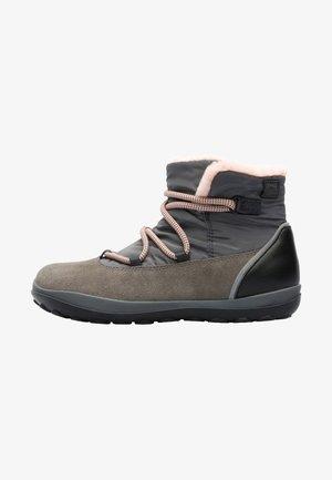 PEU PISTA - Snowboot/Winterstiefel - brown/grey
