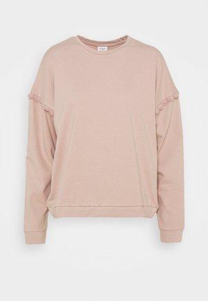 JDYRIKKE IVY LIFE - Sweatshirt - adobe rose