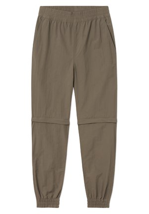 WOODWOOD 2IN1 HIKE PANT - Spodnie treningowe - canteen