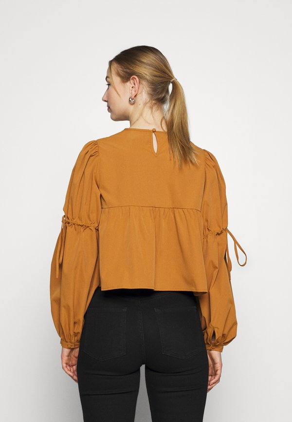 Fashion Union OLIVIA - Bluzka - pecan/brązowy TADS