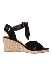 Tamaris - Wedge sandals - black uni - 5