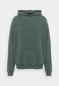 oftt - HEAVYWEIGHT HOODED RAGLAN - Huppari - fade out green - 4
