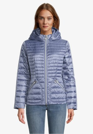 MIT ABNEHMBARER KAPUZE - Winter jacket - stonewash