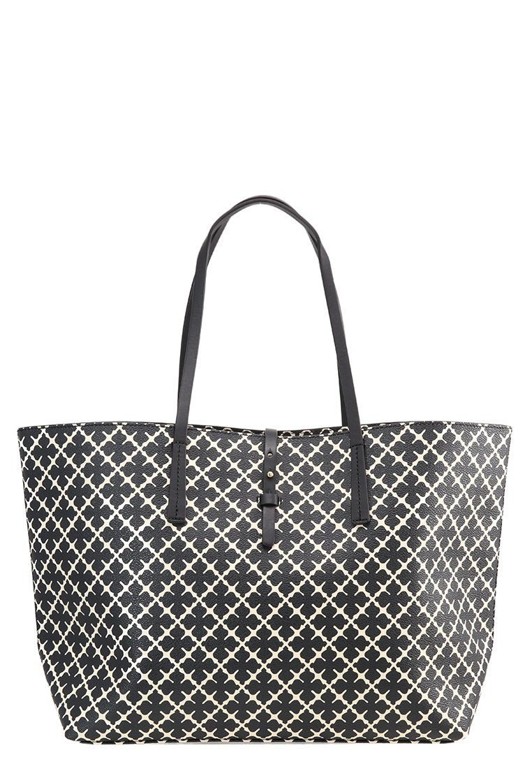 Handbag Grineeh Flower BLACKWHITE By Malene Birger