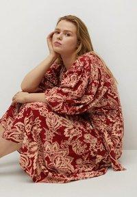 Violeta by Mango - Day dress - rojo - 4