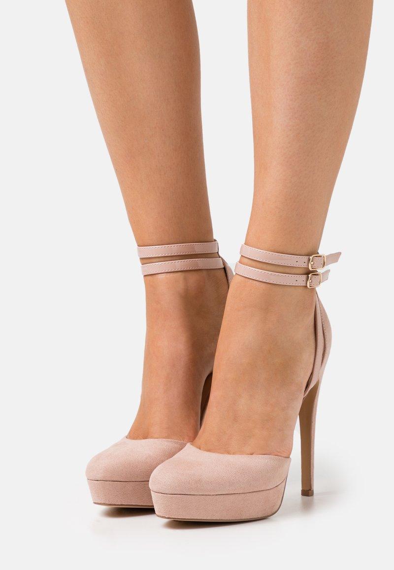Even&Odd - High heels - light pink
