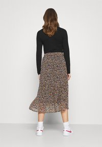 Pieces - PCMACYA SKIRT - A-line skirt - black/misty rose