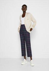 Vivienne Westwood - GEORGE  - Trousers - purple/green - 1
