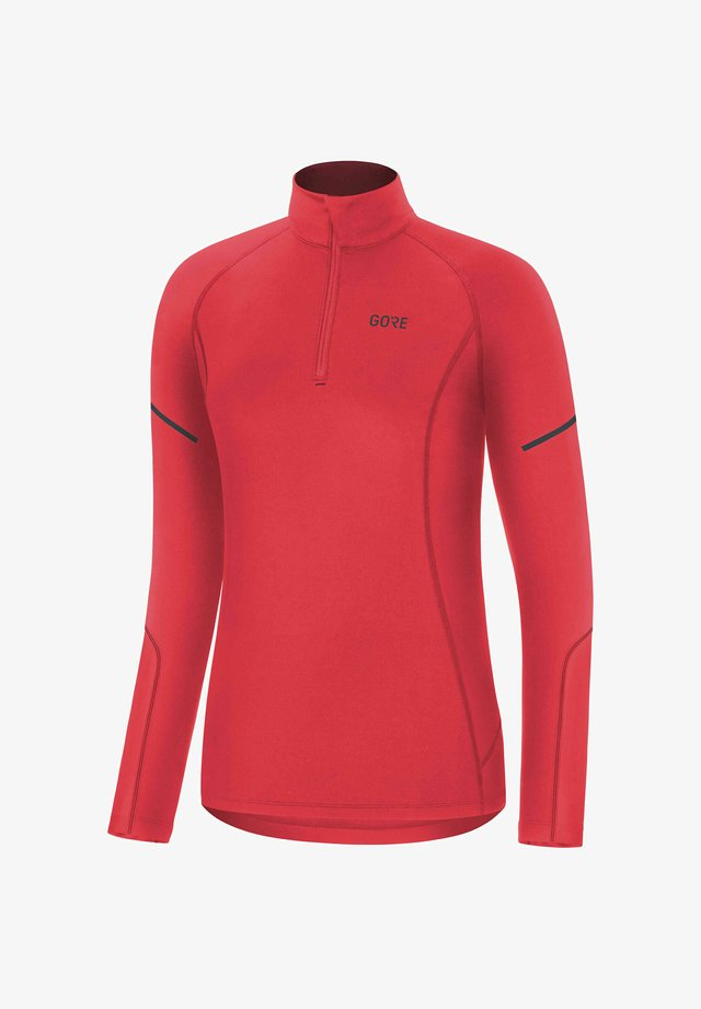 LANGARM - Long sleeved top - koralle