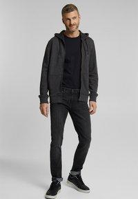 Esprit - Zip-up hoodie - anthracite - 1