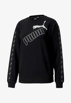 AMPLIFIED CREW NECK - Sweatshirt - black