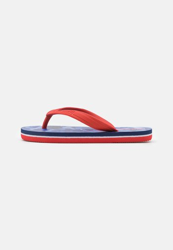 SOUTH BEACH UNISEX - Pool shoes - navy/red
