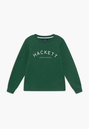 LOGO CREW - Sweater - military green