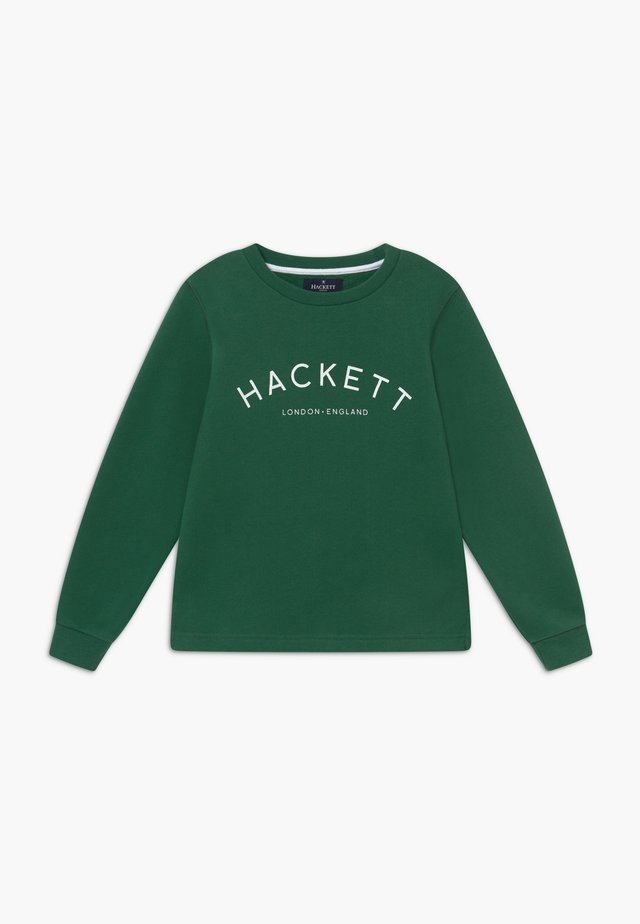 LOGO CREW - Sweatshirt - military green