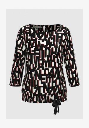 ANRA - Long sleeved top - black