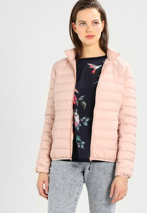 LADIES BASIC JACKET - Bunda z prachového peří - lightrose