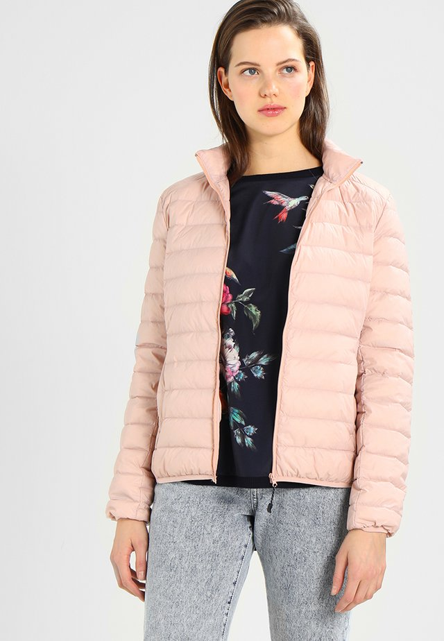 LADIES BASIC JACKET - Dunjakke - lightrose
