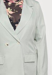 Missguided Plus - LONGLINE - Blazer - mint - 4