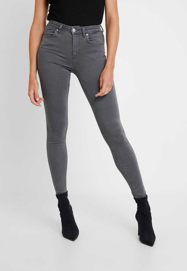 ONLDOOLEY MID - Jeans Skinny Fit - grey denim