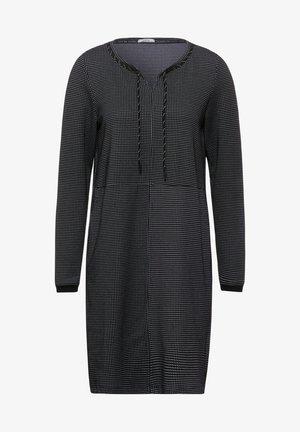 MINIMAL MUSTER - Jumper dress - schwarz