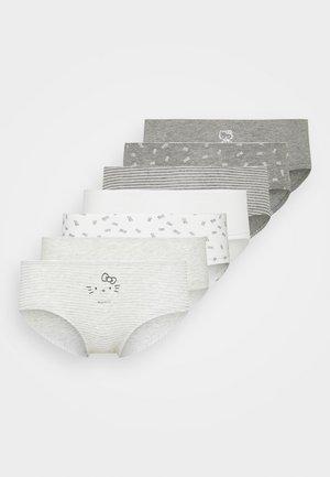HELLO 7 PACK - Kalhotky - grey