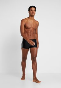 adidas Performance - FIT - Swimming trunks - black/white - 3