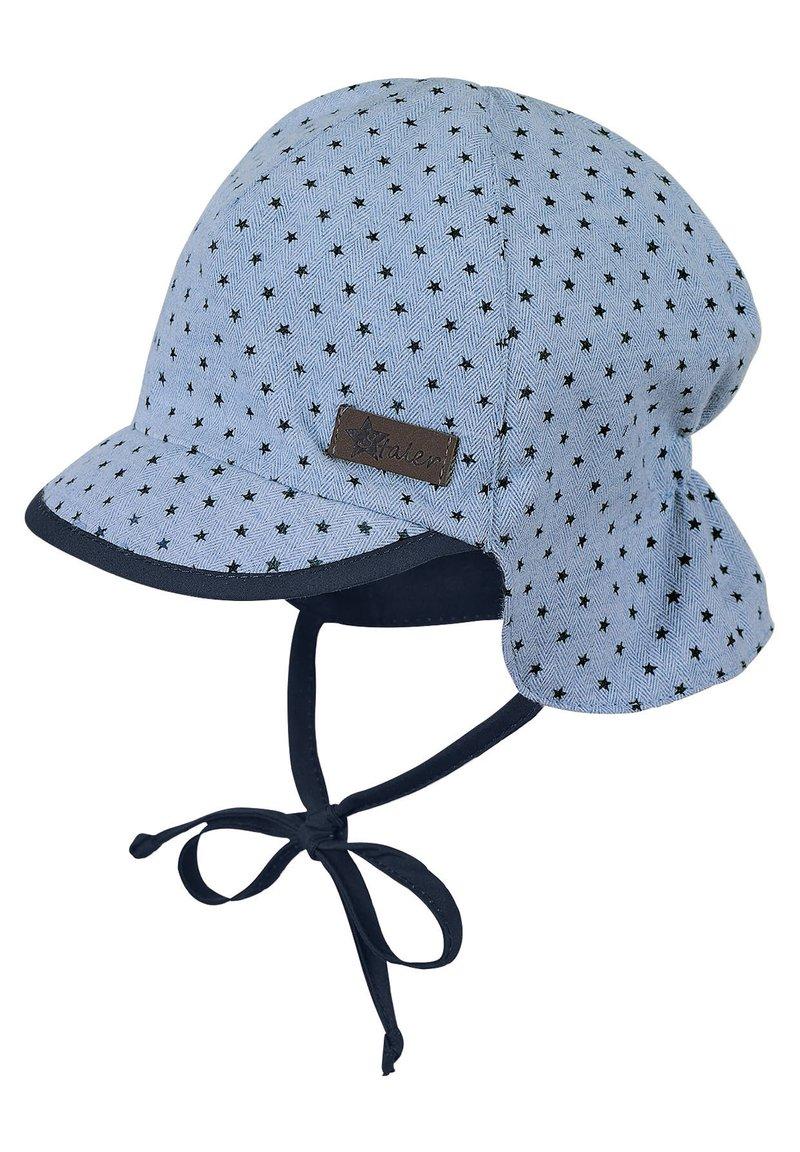 Sterntaler - BABY SCHIRMMÜTZE MIT NACKENSCHUTZ JUNGEN  - Hat - light blue