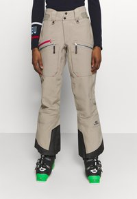 State of Elevenate - WOMENS BACKSIDE PANTS - Pantaloni da neve - tan - 0