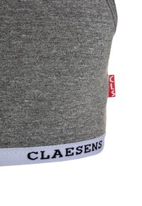 Claesen's - GIRLS CROP TOP - Korzet - grey - 2