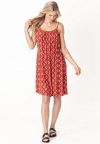 Indiska - SEFA - Day dress - red - 1