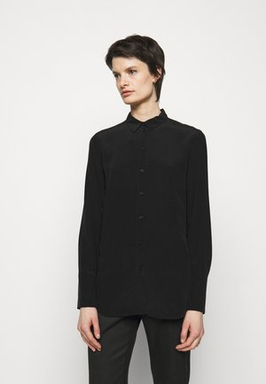 CALANI - Button-down blouse - black