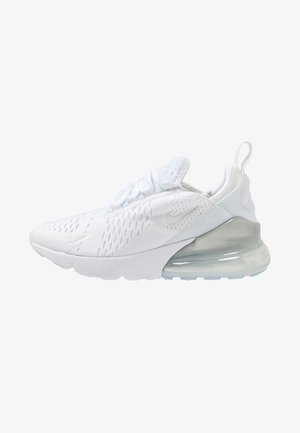 AIR MAX 270 - Sneakersy niskie - white/silver