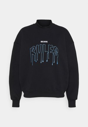 BREAKING RULES TURTLENECK - Sweater - black